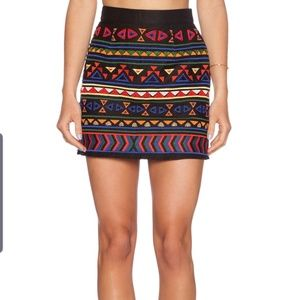 Sam Edelman embellished miniskirt with embroidery